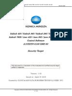 Konica423 Security Target1.02