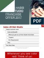 Franchise Offer Jawed Habib Hair Studio ( Hair Salon )