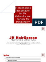 JH HairXpreso Franchise Offer Frequently Asked Question