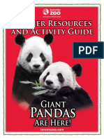 giant panda teacher resources and activity guide