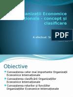 Organizații Economice Internaționale