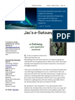 Jac O' Keeffe E-Satsang April-May 2012
