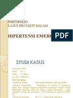 portofolio hipertensi emergensi ppt