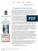 eBook - PDF - The Instructor 13 - A Chess Player and How He Grows - Dvoretsky - Chess