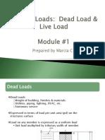 Primary Loads Module 1