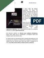 Potosí (Ander Izagirre, Libros del K.O.)