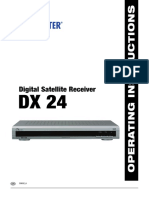 Digital Satellite Receiver DX-24