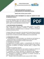 Edital Agente Do Bem de Iguatu