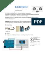 Arduino Initiatie 07 Ultra Soon Sensor