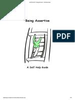 Being Assertive - Self-help Guide.pdf