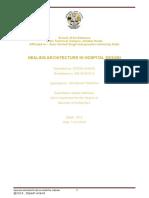 DISSERTATION ON HEALING ARCHITECTURE IN HOSPITAL DESIGN