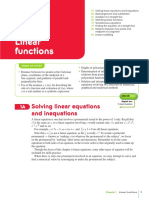 Ch01 Linear Functions