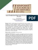As Construções de Sujeitos Sociais Por Meio Das Narrativas Orais Contribuições Teóricas de Lucilia de Almeida Neves Delgado Isac Ferreira