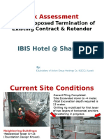 Risk Assessment - IBIS Sharjah Proposed Termination f Contract