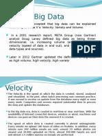3 v's of Big Datahgj