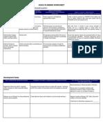 Goal Setting Goals Planning Worksheet