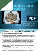 Auditul Intern Și Frauda
