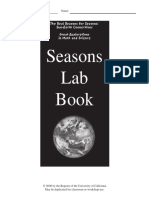 Seasons Lab Book