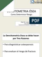 (0)-Densitometria Ósea y Riesgo de Fx