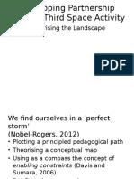 Developing Partnership Theorising the Landscape