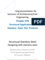 Module 07B Structural Stainless Steel Flat Products