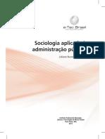 Sociologia Aplicada a Administracao Publica Impressao