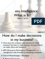 Business Intelligence Presentation (Part 1 of 2)