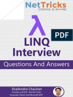 Download Free LINQ Interview Questions & Answers - By Shailendra Chauhan