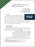 ⭐Análise de séries temporais aplicada aos valores do salário mínimo necessário do Brasil