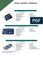 Catálogo de Componentes Eletrônicos