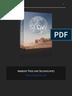Slow v1.0 Manual