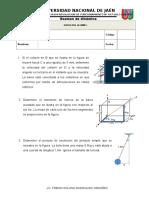 Examen de Mecanica