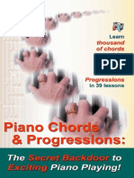 Piano Chords & Chord Progressions - Duane Shinn
