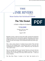 Th Time Rivers_ 'the Nile Denial'