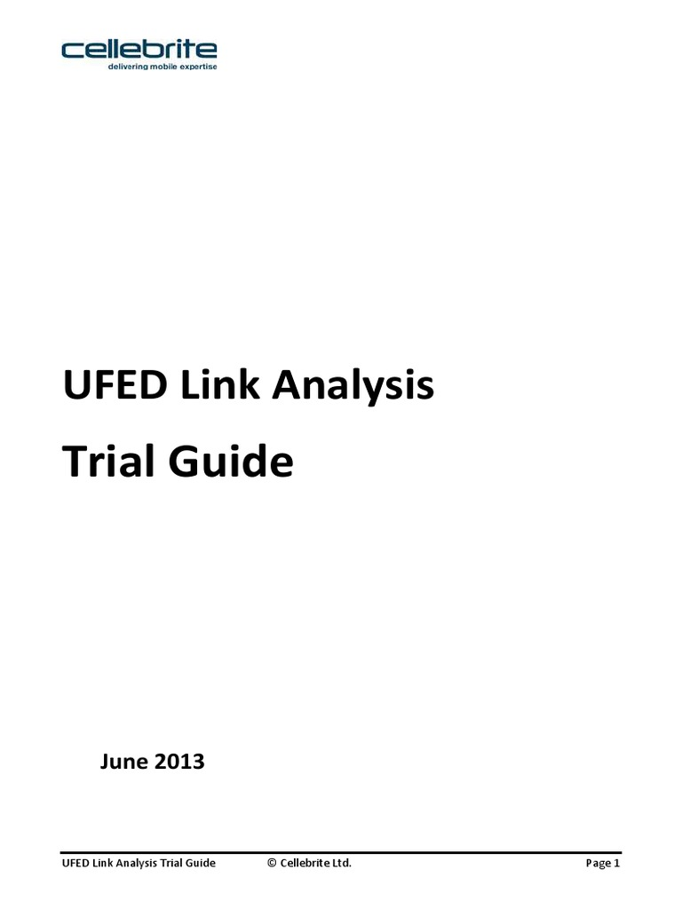 UFED Link Analysis Trial Guide1 6   Areas Of Computer