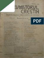 Revista Îndrumătorrul Creștin Baptist 1946 Martie Anul I, Nr. 2