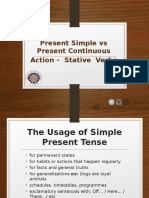 PPT 1 - Present Simple _ Cont. _ Stative Verbs