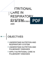 Nutritional Care in Resp.system
