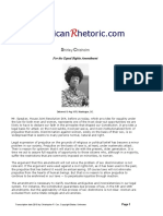Shirley Chisholm - For the Equal Rights Amendment