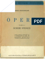 Kogalniceanu Mihail_Opere_tomul I_Scrieri istorice