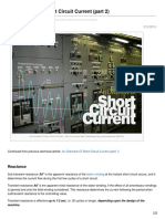 An Overview of Short Circuit Current Part 2