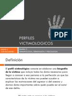 Perfiles Victimologicos - Psicologia Forense