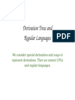 CFG Derivation