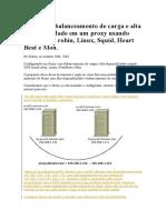 Aplicando Balanceamento de Carga e Alta Disponibilidade Em Um Proxy Usando DNS Round Robin