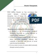 disaster management.doc