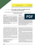 Los rasgos psicopáticos median el efecto de la marginalidad social en la conducta antisocial juvenil