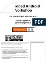 Embedded Android Workshop 150325