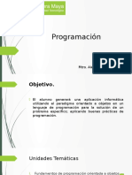 Temario Programación