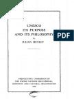 UNESCO Principles and Philosophy