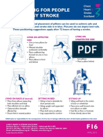 Positioning Pasien Stroke